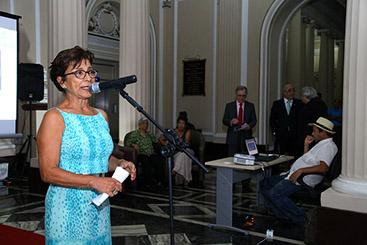 Anna Jácome, coordenadora do projeto Bibiano Silva